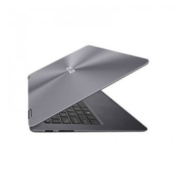 "Ноутбук Asus UX360CA-C4124TS Core M5 6Y54/8Gb/128Gb/SSD128Gb/13.3""/IPS/FHD (1920x1080)/Windows 10/grey/WiFi/BT/Cam"