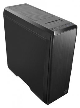 Корпус Thermaltake Urban T31 черный без БП ATX 4x120mm 2x140mm 2xUSB2.0 2xUSB3.0 audio front door bott PSU