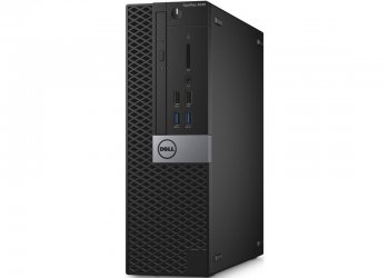 Системный блок Dell Optiplex 5040 SFF i5 6500 (3.2)/4Gb/500Gb 7.2k/HDG530/DVDRW/Windows 7 Professional 64 +W10Pro/GbitEth/клавиатура/мышь/черный/серый