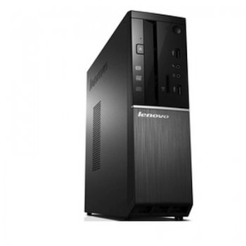 Системный блок Lenovo IdeaCentre 510S-08ISH SFF i3 6100 (2.41)/4Gb/500Gb/HDG/DVDRW/Windows 10 Home Single Language 64/Eth/65W/черный