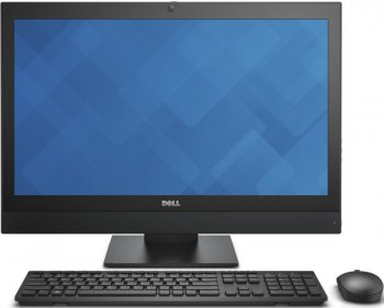 "Моноблок Dell Optiplex 7440 23.8"" Full HD i5 6500 (3.2)/4Gb/500Gb 7.2k/HDG530/DVDRW/Windows 7 Professional 64 +W10Pro/GbitEth/WiFi/BT/Cam/черный 1920x"