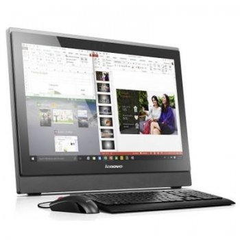 "Моноблок Lenovo IdeaCentre S400z 21.5"" Full HD P 4405U/4Gb/500Gb 7.2k/DVDRW/Windows 10/черный 1920x1080"