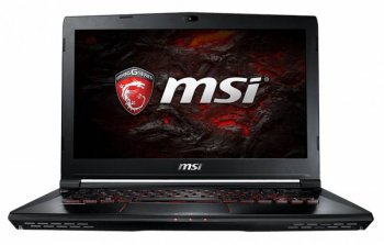"Ноутбук MSI GS43VR 6RE Phantom Pro Core i7 6700HQ/32Gb/1Tb/SSD512Gb/nVidia GeForce GTX 1060 6Gb/14""/FHD (1920x1080)/Windows 10/black/WiFi/BT/Cam"
