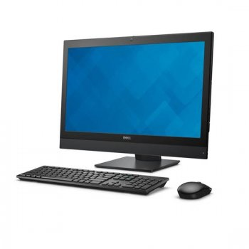 "Моноблок Dell Optiplex 7440 23.8"" Full HD i7 6700 (3.2)/8Gb/1Tb 7.2k/HDG530/DVDRW/Windows 7 Professional 64 +W10Pro/GbitEth/WiFi/BT/Cam/черный 1920x10"