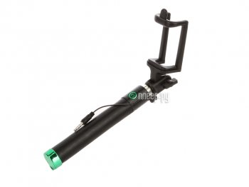 Монопод для селфи MONOPOD BlackEdition Cable Green