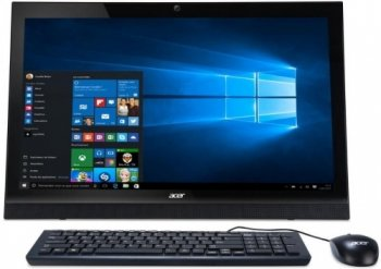 "Моноблок Acer Aspire Z1-623 21.5"" Full HD i3 5005U (1.7)/4Gb/500Gb/GF940 2Gb/DVDRW/Windows 10 Home Single Language/Eth/WiFi/BT/Cam/черный 1920x1080"