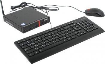 Системный блок Lenovo ThinkCentre M700 Tiny slim i5 6400T (2.9)/4Gb/500Gb 7.2k/Windows 10 Professional dwnW7Pro64/клавиатура/мышь