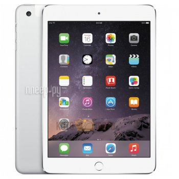 Планшетный компьютер APPLE iPad mini 4 32Gb Wi-Fi Silver MNY22RU/A
