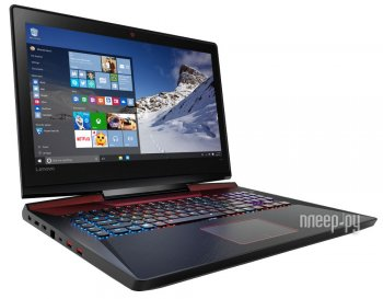 Ноутбук Lenovo IdeaPad Y900-17ISK 80Q1007ARK Black (Intel Core i7-6820HK 2.7 GHz/16384Mb/1000Gb + 256Gb SSD/No ODD/nVidia GeForce GTX 980M 8192Mb/Wi-F