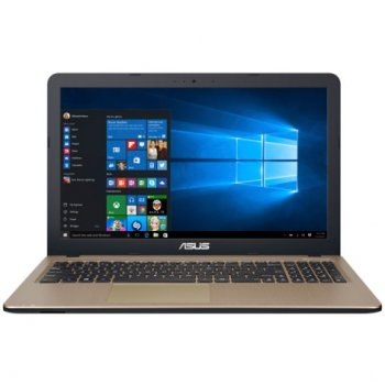 "Ноутбук Asus K540LJ-XX519T <90NB0B11-M07160> Core i3 4005U/6Gb/500Gb/DVD-RW/nVidia GeForce 920M 1Gb/15.6""/HD (1366x768)/Win10/"