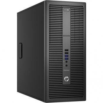 Системный блок HP EliteDesk 800 G2 MT i5 6500/4Gb/1Tb 7.2k/HDG/DVDRW/Windows 10 Professional 64 +W7Pro/GbitEth/клавиатура/мышь/черный