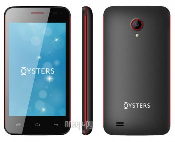 Смартфон Oysters Indian V Black-Red