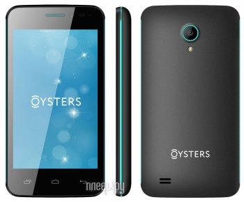 Смартфон Oysters Indian V Black-Green