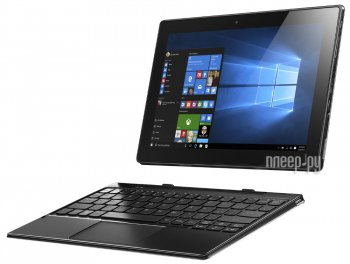 "Планшетный компьютер Lenovo MiiX 310-10ICR Atom Z3745 (1.33) 4C/RAM2Gb/ROM64Gb 10.1"" 1280x800/4G/Windows 10/серый/5Mpix/1.6Mpix/BT/GPS/WiFi/Touch/micr"