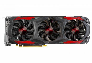 Видеокарта PowerColor PCI-E AXRX 480 8GBD5-3DH/OC AMD Radeon RX 480 8192Мб 256bit GDDR5 1330/8000 DVIx1/HDMIx1/DPx3/HDCP Ret