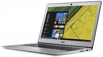 "Ноутбук Acer Aspire SF314-51-75W0 Core i7 6500U/8Gb/SSD256Gb/Intel HD Graphics/14""/FHD (1920x1080)/Linux/silver/WiFi/BT/Cam/3220mAh"