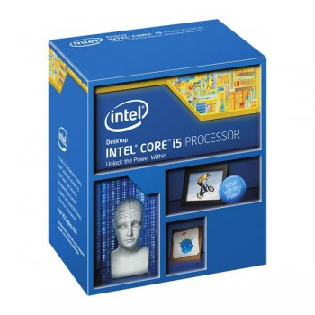 Процессор Intel Original Core i5 4690K Soc-1150 (BX80646I54690K S R21A) (3.5GHz/Intel HD Graphics 4600) Box