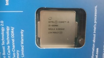 Процессор Intel Original Core i5 6600K Soc-1151 (BX80662I56600K S R2BV) (3.5GHz/Intel HD Graphics 530) Box