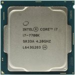 Процессор Intel Core i7-7700K BOX (без кулера) 4.2 GHz/4core/SVGA HD Graphics 630/8Mb/ LGA1151