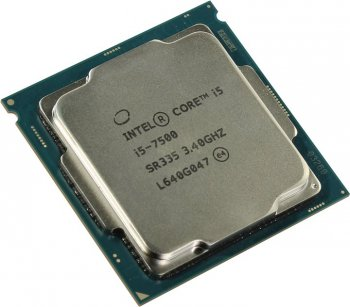 Процессор Intel Core i5-7500 3.4 GHz/4core/SVGA HD Graphics 630/1+6Mb/65W/8 GT/s LGA1151
