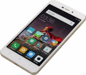 "Смартфон Xiaomi Redmi 4A 2/16Gb Gold (1.4GHz,2Gb,5""1280x720 IPS,4G+WiFi+BT, 16Gb+microSD, 13Mpx)"