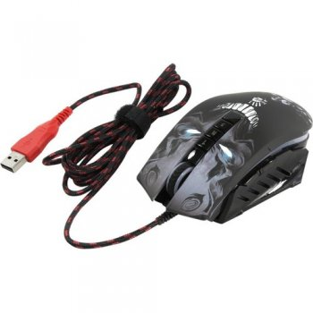 Мышь Bloody Gaming Mouse <P85 Skull> (RTL) USB 8btn+Roll