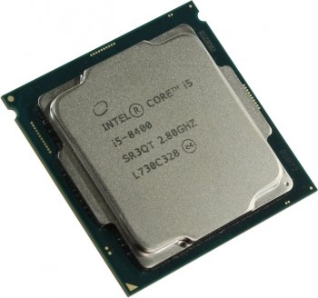Процессор Intel Core i5-8400 2.8 GHz/6core/SVGA UHD Graphics 630/1.5+9Mb/65W/8 GT/s LGA1151
