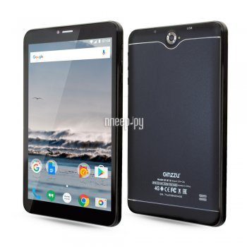 Планшетный компьютер Ginzzu GT-8110 Black (Spreadtrum SC9832 1.3 GHz/1024Mb/16Gb/GPS/LTE/Wi-Fi/Bluetooth/Cam/8.0/1280x800/Android)