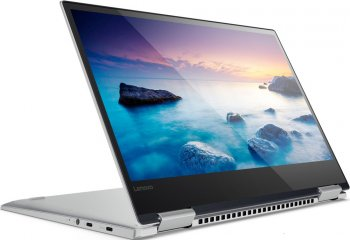 "Ноутбук Lenovo YOGA 720-13IKBR Core i5 8250U/8Gb/SSD256Gb/Intel UHD Graphics 620/13.3""/IPS/FHD (1920x1080)/Windows 10/grey/WiFi/BT/Cam"