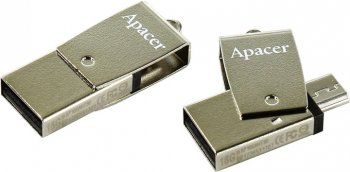 Накопитель USB Apacer AH730 <AP16GAH730S-1> USB2.0 Flash Drive 16Gb (RTL)
