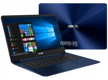 Ноутбук Asus Zenbook UX530UQ-FY046T 90NB0EG2-M01370 (Intel Core i5-7200U 2.5 GHz/8192Mb/256Gb SSD/No ODD/nVidia GeForce 940MX/Wi-Fi/Bluetooth/Cam/15.6