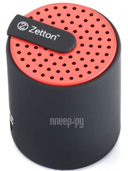 Zetton Cylinder Black-Red ZTLSBSCYLBR