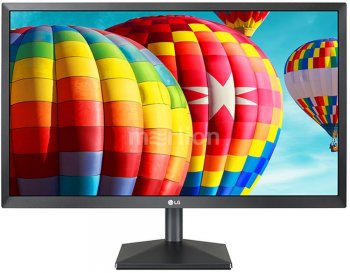"Монитор LG 23.8"" 24MK430H черный IPS LED 5ms 16:9 HDMI матовая 1000:1 250cd 1920x1080 D-Sub FHD 2.8кг"