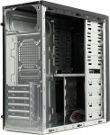 Корпус Miditower Exegate <CP-602> Black ATX без БП <EX269429RUS>