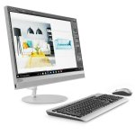 "Моноблок Lenovo IdeaCentre 520-24IKL 23.8"" Full HD i5 7400T (2.4)/4Gb/1Tb 7.2k/DVDRW/Free DOS/GbitEth/WiFi/BT/клавиатура/мышь/Cam/серебристый 1920x108"
