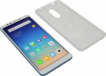 "Смартфон Xiaomi Redmi 5 2/16Gb Blue (1.8GHz, 2Gb, 5.7""1440x720 IPS, 4G+WiFi+BT, 16Gb+microSD, 12Mpx)"