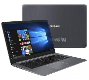 Ноутбук Asus VivoBook S15 S510UA-BR478T 90NB0FQ5-M07370 (Intel Core i3-7100U 2.4 GHz/8192Mb/1000Gb/No ODD/Intel HD Graphics/Wi-Fi/Bluetooth/Cam/15.6/1