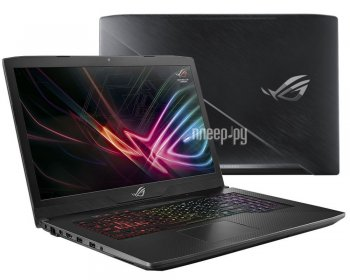 Ноутбук Asus ROG GL703VM-EE251T 90NB0GL1-M04080 (Intel Core i7-7700HQ 2.8 GHz/16384Mb/1000Gb/No ODD/nVidia GeForce GTX 1060 6144Mb/Wi-Fi/Cam/17.3/1920
