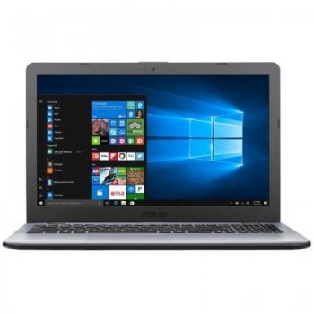 "Ноутбук Asus VivoBook X542UA-DM050 Core i3 7100U/4Gb/SSD128Gb/DVD-RW/Intel HD Graphics 620/15.6""/FHD (1920x1080)/Endless/dk.grey/WiFi/BT/Cam"