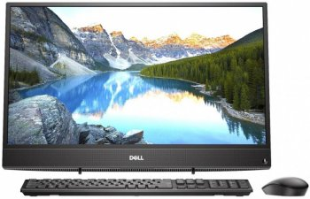 "Моноблок Dell Inspiron 3477 23.8"" Full HD i3 7130U (2.7)/4Gb/1Tb 5.4k/HDG620/Windows 10 Professional/GbitEth/WiFi/BT/65W/клавиатура/мышь/черный 1920x1"