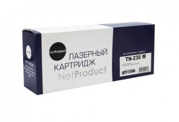 Тонер-картридж NetProduct (N-TN-230M) для Brother HL-3040CN/3070CW/MFC9010CN, M, 1,4K (аналог TN230M)