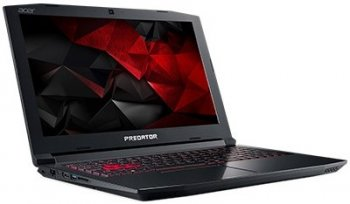"Ноутбук Acer Predator Helios 300 G3-572-58YT Core i5 7300HQ/8Gb/1Tb/SSD128Gb/nVidia GeForce GTX 1060 6Gb/15.6""/IPS/FHD (1920x1080)/Linux/black/WiFi/BT"