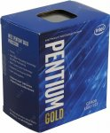 Процессор Intel Pentium G5400 BOX 3.7 GHz/2core/SVGA UHD Graphics 610/ 4Mb/58W/8 GT/s LGA1151