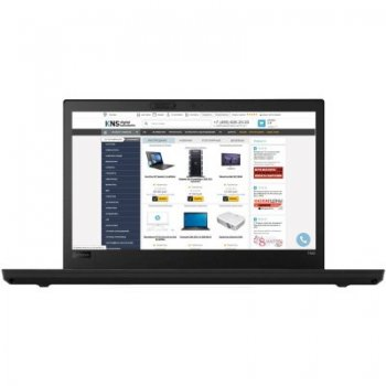 "Ноутбук Lenovo ThinkPad T480 Core i7 8550U/16Gb/SSD512Gb/nVidia GeForce Mx150 2Gb/14""/IPS/WQHD (2560x1440)/Windows 10 Professional 64/black/WiFi/BT/Ca"