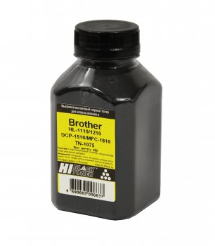 Тонер Hi-Black для Brother HL-1110/1210/DCP-1510/MFC-1810 (TN-1075), Bk, 40 г, банка