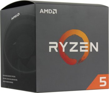 Процессор AMD Ryzen 5 2600 BOX (YD2600B) 3.4 GHz/6core/3+16Mb/65W Socket AM4