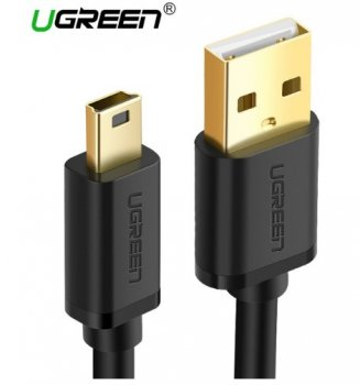 Кабель UGREEN Mini USB-->USB 1м