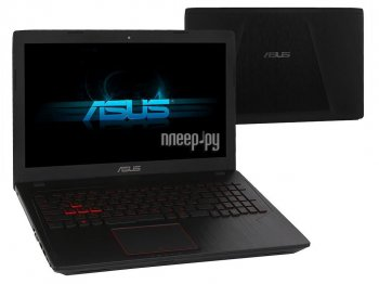 Ноутбук Asus ROG FX553VD-E41118T XMAS Edition 90NB0DW4-M17810 (Intel Core i5-7300HQ 2.5 GHz/6144Mb/1000Gb + 128Gb SSD/No ODD/nVidia GeForce GTX 1050 2