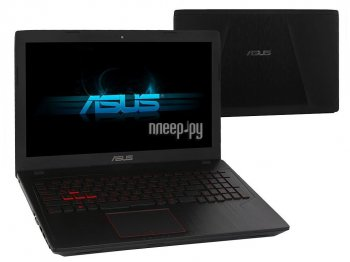 Ноутбук Asus ROG FX553VE-DM473 90NB0DX4-M07080 (Intel Core i5-7300HQ 2.5 GHz/12288Mb/1000Gb + 128Gb SSD/No ODD/nVidia GeForce GTX 1050Ti 2048Mb/Wi-Fi/