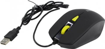 Мышь Jet.A Comfort Optical Mouse <OM-U60 Black> (RTL) USB 4btn+Roll